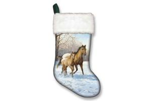 Mare & Foal Appaloosa Christmas Stocking