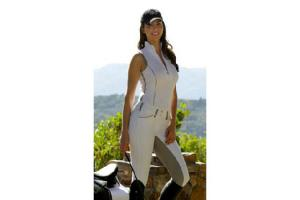Goode Rider Ideal Show Tank Top Shirt in White