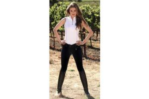 Goode Rider Low Rider Full Seat Breeches  in Black
