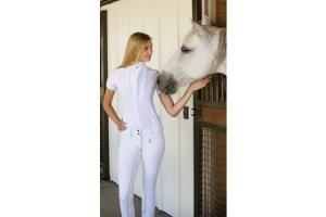 Goode Rider Regal Show Shirt in White