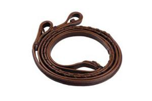 Henri De Rivel Pro Leather Raised Laced Reins