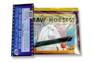 All-in-One Horse Drawing Kit