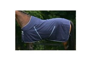 Rambo Summer Sheet in Navy and White