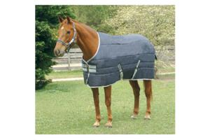 Amigo Heavy Weight 350g Insulator Stable Blanket in Navy and White