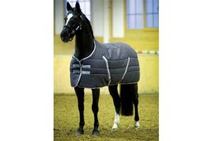 Rambo Heavy 400g Stable Rug in Charcoal and Grey