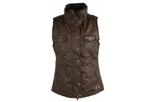 Horseware Ladies Hexham Gilet Vest in Brown