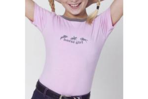 Ovation Kids Girlie Tee inFreshest Pink