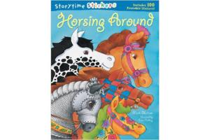 Storytime Stickers - Horsing Around,Softcover|ISBN-10: 978-1-4027-1808-3  |ISBN-13: 9781402718083