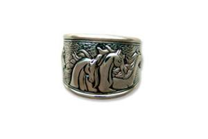 Kabana Sterling Silver Antiquity Ring
