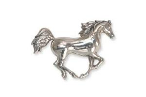 Kabana Sterling Silver Spirit Gallop Pin