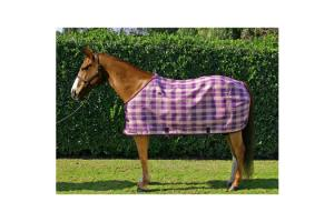 Kensington Traditional Cut Textilene Protective Sheet in Deluxe Plum Plaid