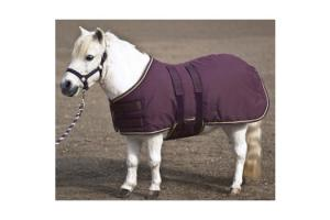 Kensington Miniature Plum 180g Turnout Blanket