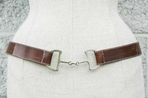 LILO Espana Deco Bit Leather Belt