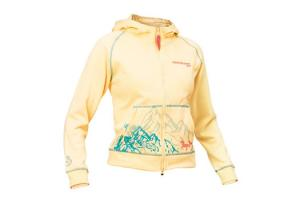 Mountain Horse Free Rider Junior Hoodie Jacket in Spring Yellow