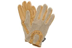 Mountain Horse Ladies Crochet Gloves in Sand