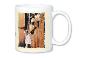 A Little Sugar Inspirational Horse Coffee Cup