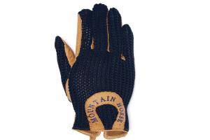 Mountain Horse Child's Crochet Gloves in Dark Navy