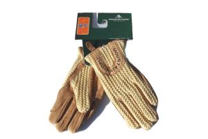 Mountain Horse Child's Crochet Gloves in Spring Yellow