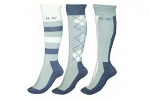 Newmarket Knee Socks - Charcoal