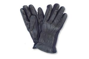 Ovation Ladies Winter Leather Show Gloves in Black