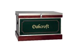 Oakcroft Medium Custom Vinyl Tack Trunk With Bandage Lid