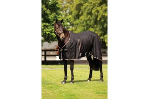 Rambo Optimo Stable Sheet in Black and Tan