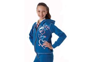 Ovation Kids Graffiti Hearts Hoodie