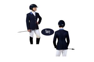Ovation Navy Blue Performance Show Coat