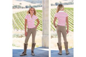 Goode Rider Girls Pro Breech