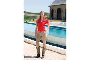 Goode Rider Pro Rider Full Seat Breeches in Khaki