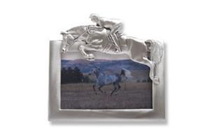 Robert Hall Pewter Jumper Picture Frame