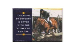 The Road To Success Magnet