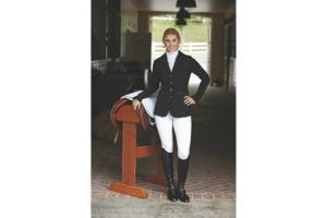 Romfh Ladies Black Jumper Show Coat