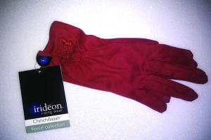 Irideon Ladies Chinchillaaah Gloves in Rudy