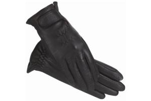 Ladies SSG Classic Leather Gloves in Black