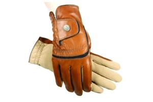 Ladies SSG Hybrid Gloves in Brown