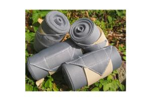 Champion Standing Bandages in Gray