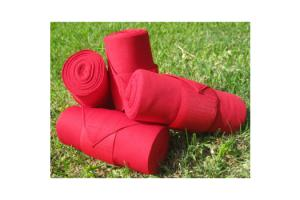 Champion Standing Bandages in Red