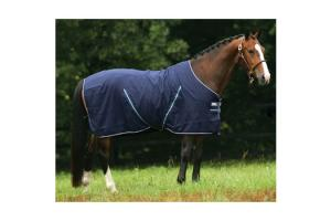 Amigo Summer Sheet in Navy and Silver
