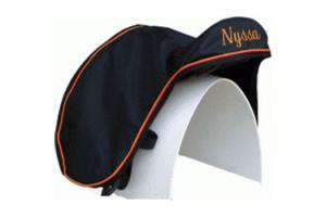 Tally Ho Custom Close Contact Lined Saddle Cover Dust Cover with No Elastic