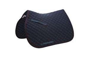 Toklat Passport Square Quilt Saddle Pad in Navy