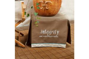 Custom Horse Show Table Cover by Integrity Linens