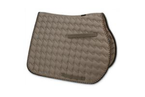 Toklat Tango Wave GP Saddle Pad in Taupe and Brown