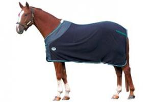 Weatherbeeta Fleece Dress Sheet in Navy and Hunter
