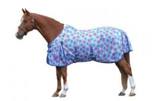 Weatherbeeta Airflow Mesh Fly Sheet in Spotty Royal