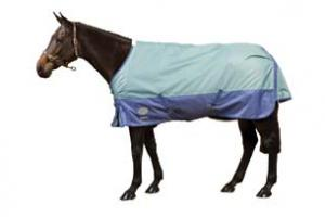 Weatherbeeta Orican Freestyle Lite Turnout Sheet in Herb and Ocean