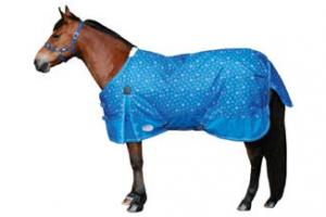 Weatherbeeta Pony 600D Standard Neck Medium 220g Turnout - Snowflake