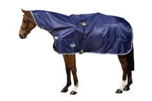 Weatherbeeta Navy and Silver Rain Sheet
