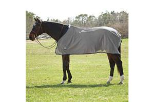 Weatherbeeta Standard Neck Scrim Sheet in Grey and Navy