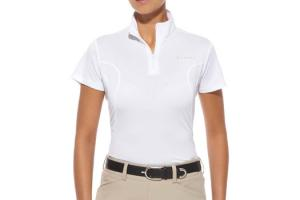 Ariat Women's Aptos Quarter Zip Shirt in White
